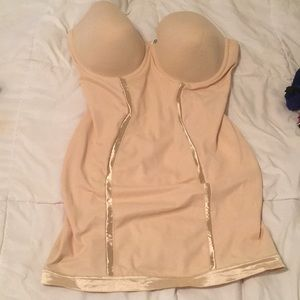 Maidenform nude body shaped
